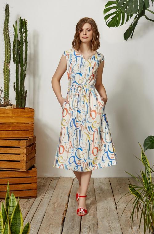Платье 3660 (42-52)